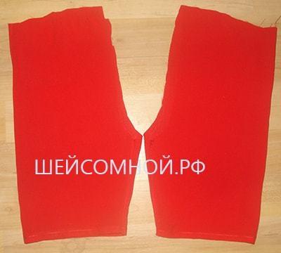 Выкройка на шорты: как сшить на резинке своими руками для начинающих