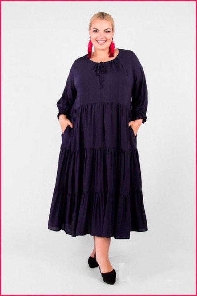 Платья на полных: выкройки, свободного покроя на лето для начинающих