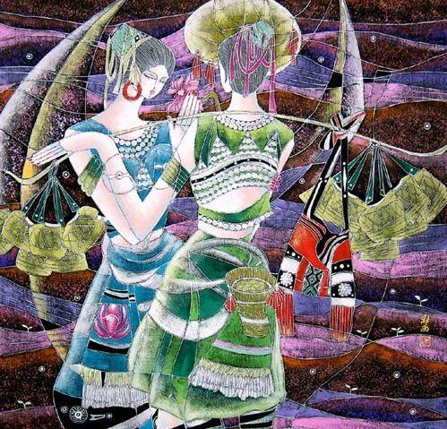 Батик: роспись по ткани для начинающих, что это, рисунки и мастер классы