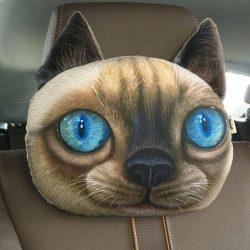 Выкройка подушки для шеи в машину своими руками в натуральную величину