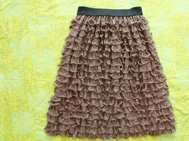 Волан на юбке: выкройка по спирали, на платье, как сшить и скроить