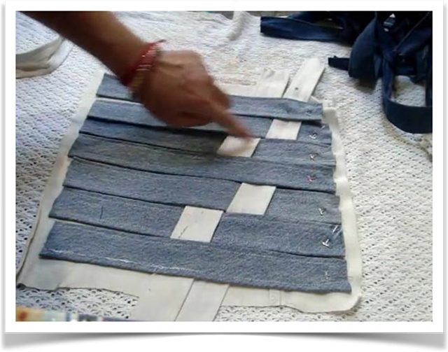 Лоскутное шитье из джинсы: покрывало своими руками, мастер класс пошагово