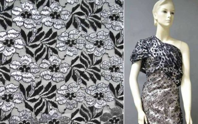 Гипюр (ткань): что это такое, как выглядит черный, белый и другие материалы