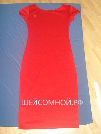 Выкройка трикотажного платья: своими руками, домашнего, без выкройки