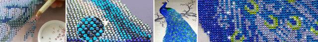 Вышивка стразами: картины, как пришить акриловые стразы на одежду