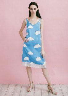Выкройка платья с юбкой: как сшить летнее своими руками, советы для начинающих