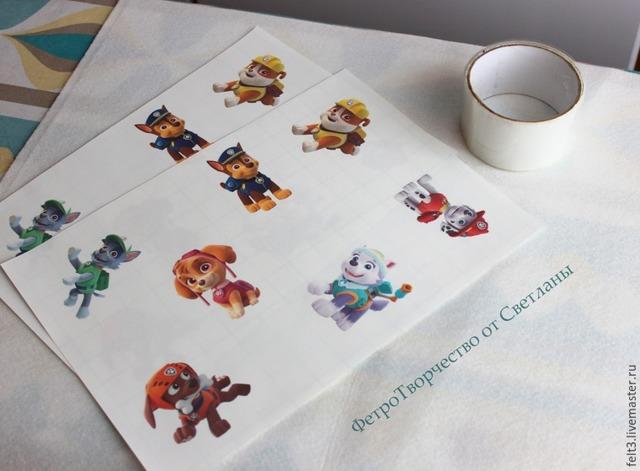 Фетр с рисунком: печать в домашних условиях самостоятельно своими руками