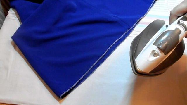 Как подшить платье вручную потайным швом или юбку на подоле в домашних условиях