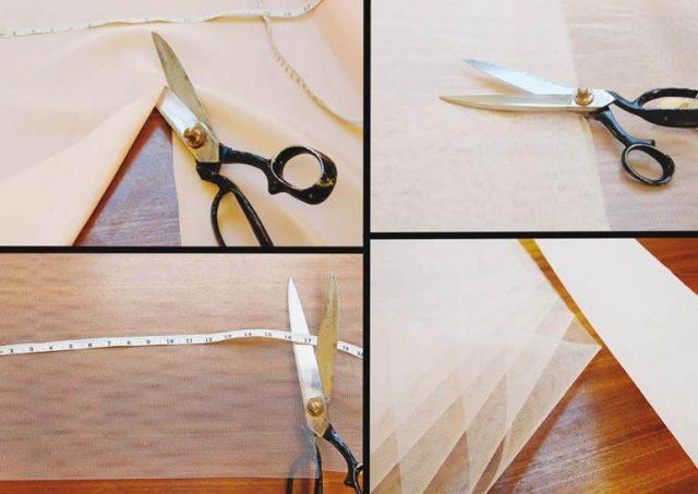 Подъюбник из фатина своими руками: как пошить пошагово из жесткого материала