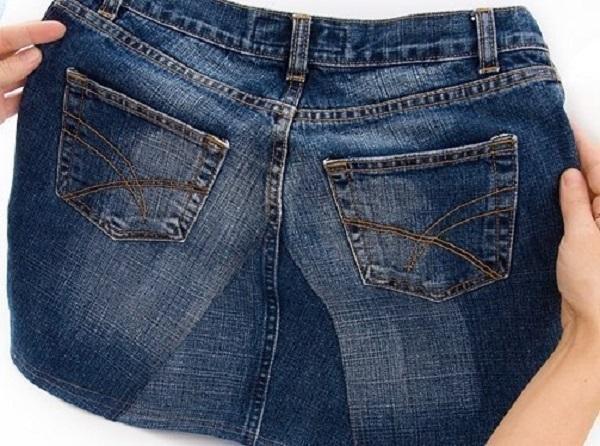 Как сшить юбку из джинсов своими руками на взрослого: мастер класс