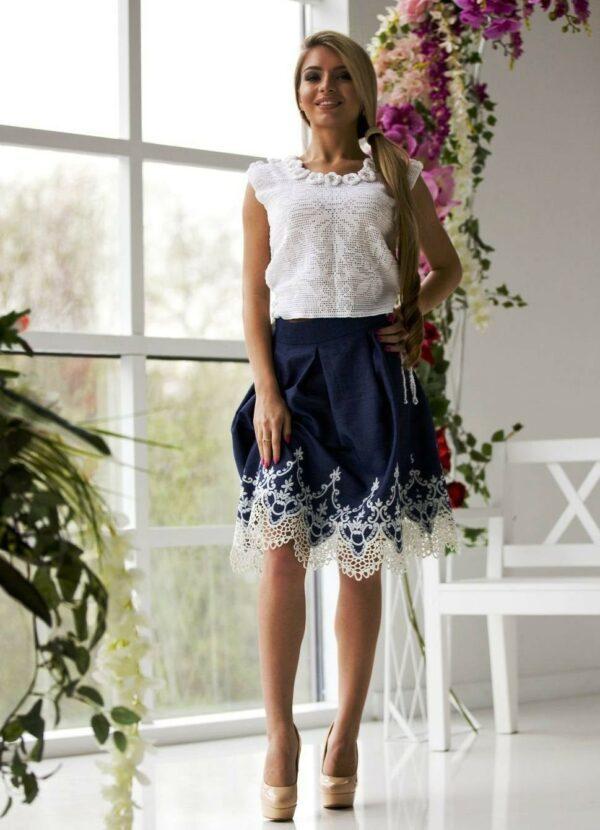 Кружево шантильи - декор лифа нарядного платья - Сделай сам