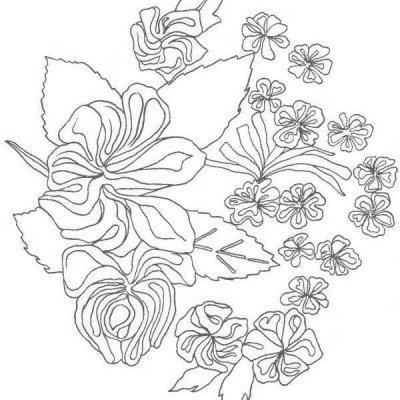 Вышивка «Лаванда» крестом, гладью, лентами: схемы для начинающих пошагово