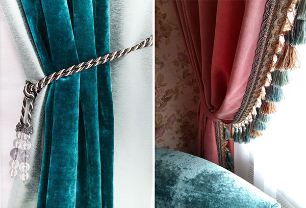 Как кроить бархат: вышивка занавесок и цветов, что можно сшить из такой ткани