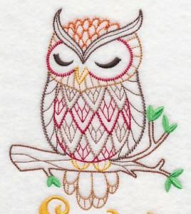 Вышивка совы крестом, бисером, гладью своими руками: интересные схемы