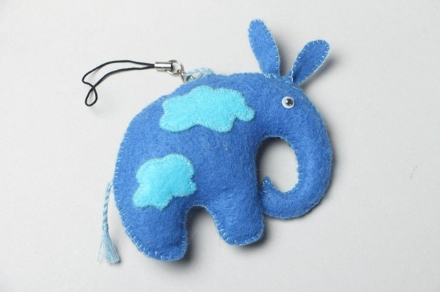 Выкройка слоника Тедди из ткани и фетра: как сшить своими руками игрушку