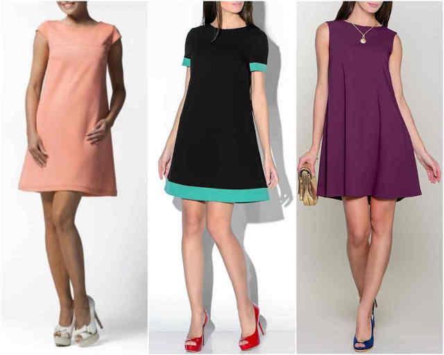 Платье трапеция: выкройка, для полных женщин, для начинающих, пошагово