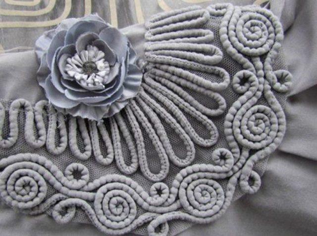 Сутажная вышивка: лента, на одежде, техника плетения, схемы вышивки