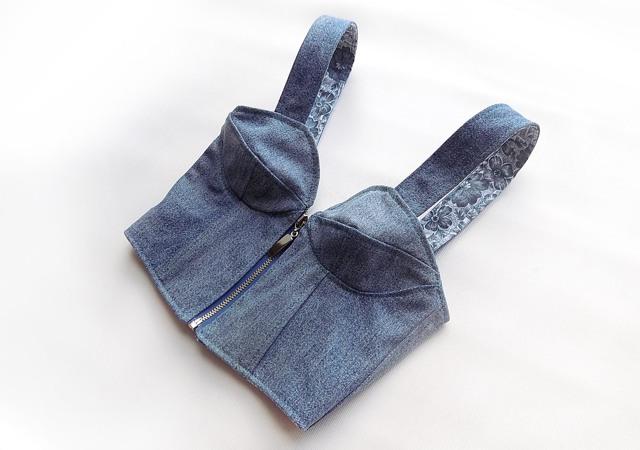 Выкройка бюстье: топ и платье с чашечками, как сшить своими руками