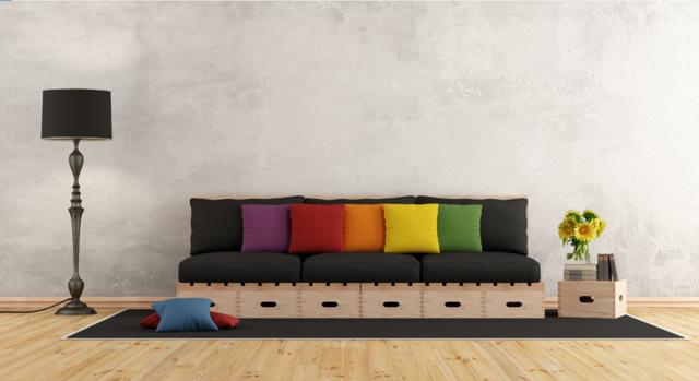 Ткань для подушек: для декоративных на диван, как называется материал
