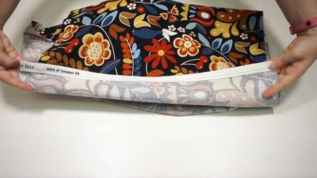 Как сшить наволочку на подушку с запахом: пошагово, выкройка своими руками