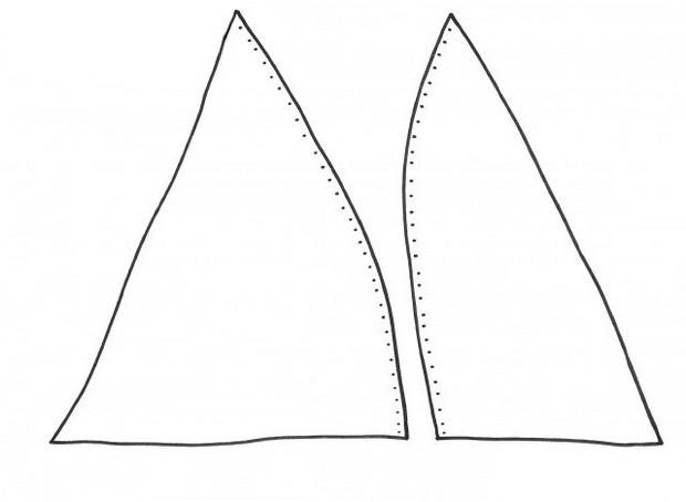 Выкройка для бюстгальтера: как сшить своими руками, без косточек, пошагово