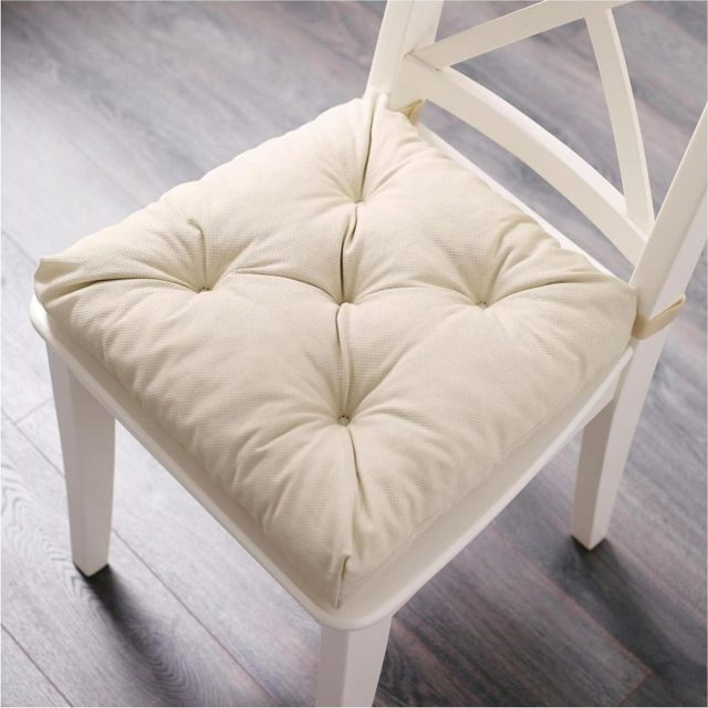 Как сшить подушку на стул и на табуретки своими руками: пошаговая инструкция