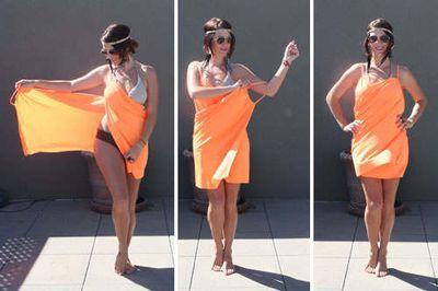 Как сшить парео для пляжа своими руками: выкройки для полных женщин
