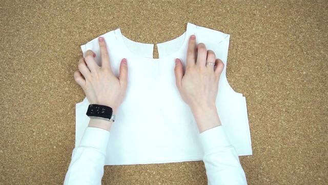 Как пришить подклад к платью без рукавов своими руками быстро и пошагово