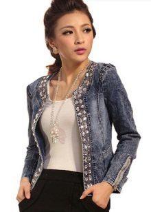 Вышивка на джинсовой куртке: с чем носить, как убрать с одежды и расшить ее