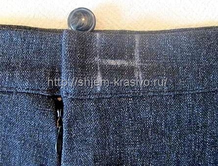 Как пришить пояс к юбке с молнией правильно своими руками для начинающих