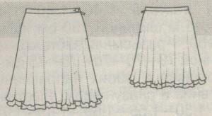 Юбка колокол: выкройка своими руками пошагово, как сшить для начинающих