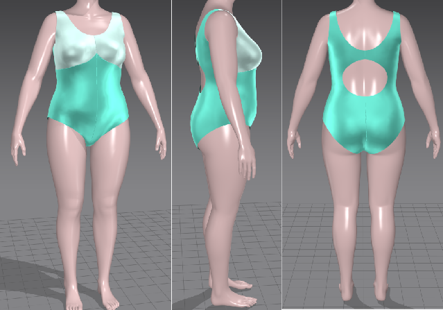 Сшить купальник своими руками: выкройка сплошного для полных женщин