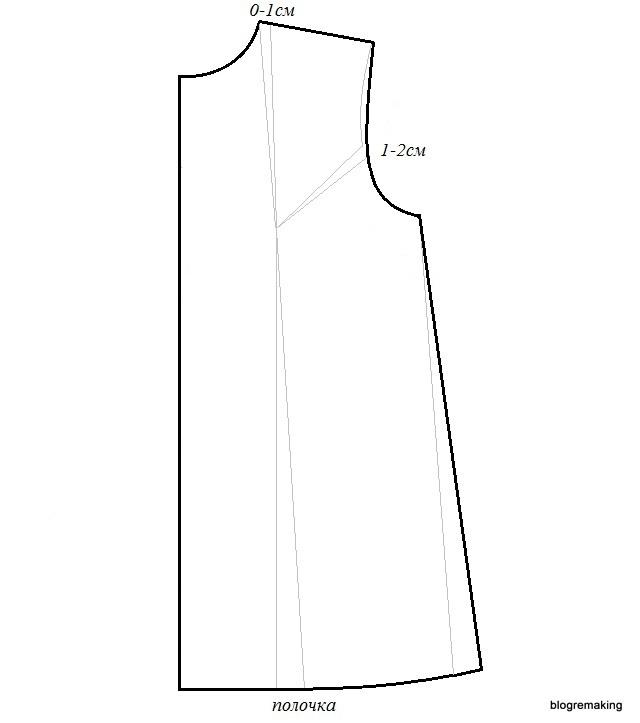 Вытачки на платье: как сделать на готовом на спине, где должны быть грудные