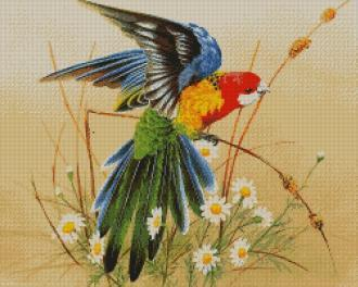 Вышивка бисером картины: полная зашивка больших размеров, наборы и схемы